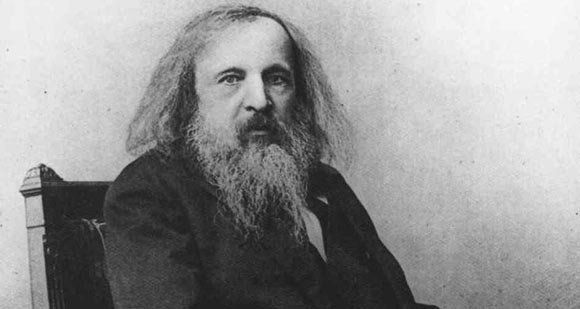 Dmitri Mendeleev on Periodic Table